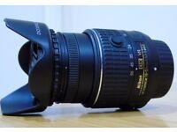 Nikon 18-55mm VR ii - F3.5 - 5.6 VR Lens