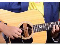 Pakistani guitar teacher
