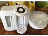 Tommee Tippee Perfect Prep machine & microwave bottle steriliser