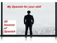 I swap my Spanish for your Skill