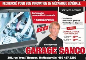 GARAGE RECOMMANDÉ  MECANIQUE AUTOMOBILE