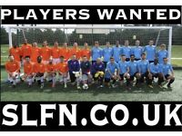 Players wanted for South London Football Team. Play football in Earlsfield, Clapham new10