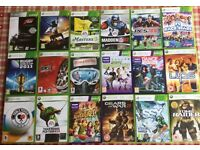 XBOX 360 GAMES. VARIOUS GAMES
