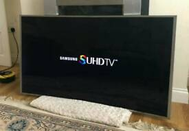 55in Samsung Curved 4K SUHD Nano Crystal Smart 3D LED TV [NO STAND]