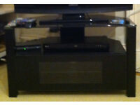 TV Stand + Polaroid Freeview Box