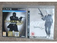 PS3 Playstation Games Bundle - 007 James Bond 2 off - ONLY £3