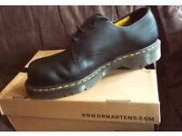 Dr Martens Safety Shoes UK Size 9 £20. Worn once, very good condition.