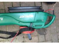 garden air blower vacuum qualcast TT1100