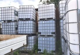 IBC Storage Containers – 1,000 litres