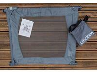 Lindam Flexiguard, flexigate - Lightweight, Portable, Fabric Safety Gate