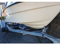 16foot GRP boat + Yamaha 60HP 4 Stroke + 4HP Aux Engine