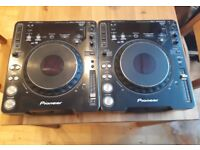 Pioneer CDJ 1000 MK3 x2