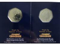 2021 Decimal 50p coins