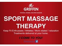 Oxford Sport Massage Therapist service (In your home)