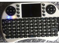 MINI WIRELESS KEYBOARD REMOTE CONTROL TOUCHPAD 2.4GHZ AIR MOUSE PC TV