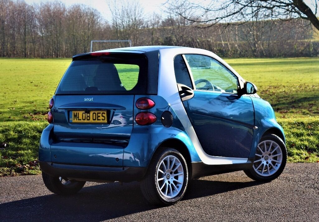 2008 Smart Fortwo Pion 71 Auto Silver 38k With Rev Camera Panroof Hid Kit
