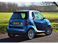 2008 SMART FORTWO PASSION 71 AUTO SILVER (38K) WITH REV CAMERA, PANROOF, HID KIT