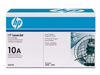 Genuine HP LaserJet 10A (Q2610A) Black Toner Cartridge)