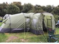 Eurohike Buckingham Elite 6 Tent + Porch + Footprint