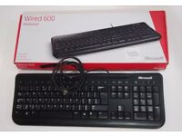 MICROSOFT Wired Keyboard 600 PC / MAC - Black. PERFECT CONDITION