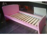 Ikea pink bed