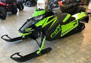 2018 Arctic Cat Mountain Cat 153 800 M8000 CTec2 3de Crampons