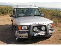 2002 LAND ROVER DISCOVER 2 TD5 XS MANUAL WITH ELECTRIC WINDOWS AND MIRRORS