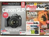 Canon magazines