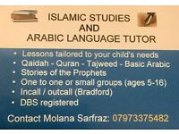 Islamic Studies Tutor and Arabic language Tuition