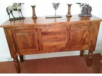 Polished Sheesham Sideboard
