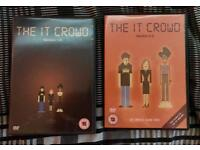 The IT Crowd Series 1&2 DVD