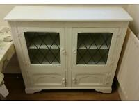 White Vintage Kitchen Cabinet