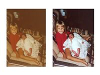 Scanning service | Photo restoration | Digitalise your old photo albums