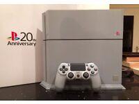20th Anniversary PS4 500gb Console **RARE** **BOXED** **MINT**