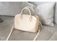 Louis Vuitton Speedy 25 Cream Empriente Leather