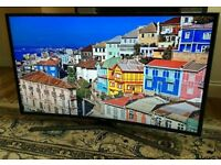 Curved 40in Samsung Smart 4K UHD TV - FREEVIEW/SAT HD - WARRANTY