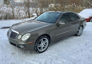 2008 Mercedes-Benz E-Class E550 4MATIC 382HP COULEURS RARES