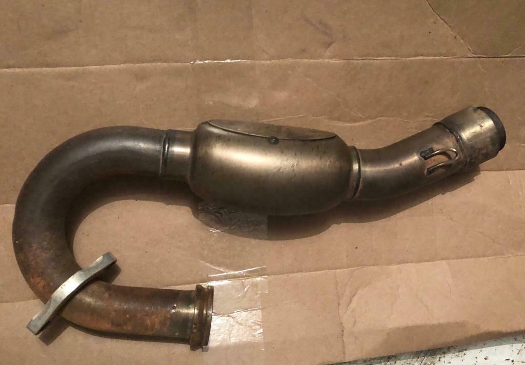Kxf 250 2017 HGS exhaust system carbon | in Luddendenfoot, West Yorkshire |  Gumtree