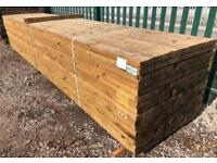🌳Pressure Treated Wooden Lengths - £9.50