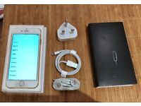iPhone 6 64gb Gold Unlocked Excellent condition New insurance replacement not used