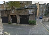 Garage West End Edinburgh to rent