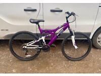 Ladies mountain bike 18'' frame 26'' wheels £65