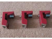 DDrum KIT Acoustic Trigger Set PRO Triggers for Tom-Toms / Red.