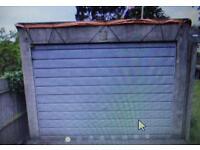 Pre cast concrete sectional garage