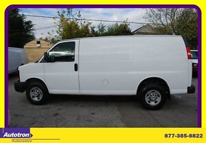 2009 Chevrolet Express 2500 Tinted back Windows, vinyl seats