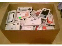 WHOLESALE/ JOB LOT 100 XQISIT I PHONE ANS SAMSUNG CASES