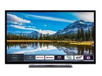 *FREE DELIVERY = 32 SMART TV TOSHIBA LED = ALEXA BLUETOOTH LIKE NEW STYLISH TELEVISION