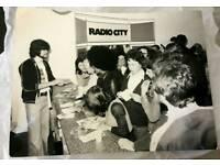 Original 1976 radio city photograph