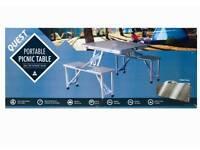 BRAND NEW Aluminium Folding Picnic Table