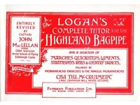 BOOK, LOGAN'S COMPLETE TUTOR FOR THE HIGHLAND BAGPIPE
